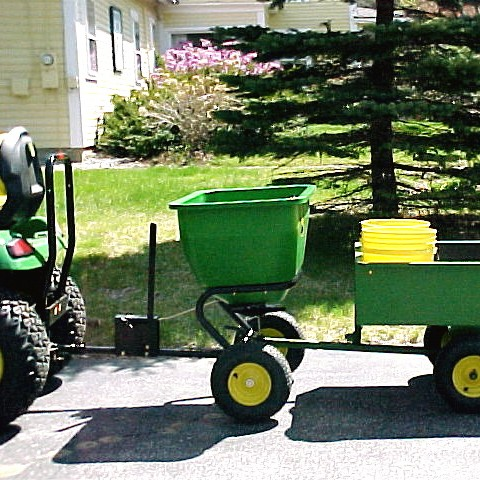 Carts, Aerators & Spreaders