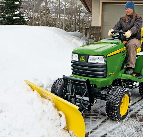 Plow Attachments for Lawn Tractors